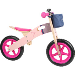 Balance Bike Pink Hummingbird