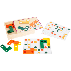Geometric Shapes Wooden Learning Puzzle