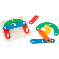 Learning Game Letters and Numbers Insertion Puzzle