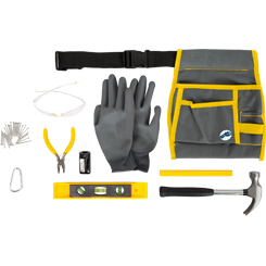 Pro Tool Bag with Tools