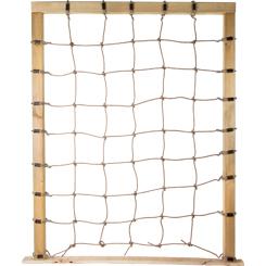 Climbing Net with Figure 8 Hooks